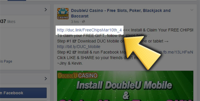 double u casino free promo codes