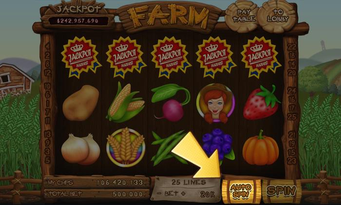 Slots farm fan page