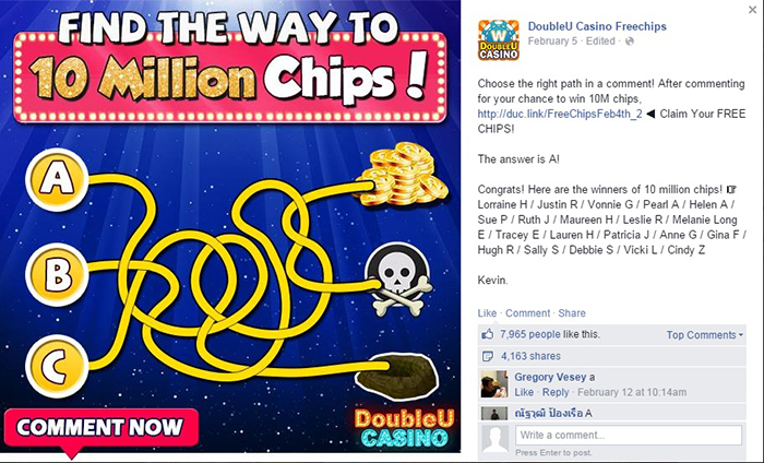 doubleu casino on facebook free chips